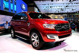 Ford Everest 2015 ใหม่เตรียมเปิดตัวในจีน 13 พ.ย.นี้