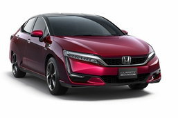 'Honda Clarity' รถฟิวเซลคู่แข่ง 'Mirai' เตรียมประกาศราคาจำหน่ายจริงแล้ว