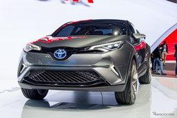 Toyota C-HR โฉมจำหน่ายจริงเตรียมเปิดตัวต้นเดือนมี.ค.นี้