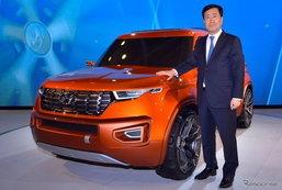 Hyundai HND-14 Carlino ต้นแบบคอมแพ็คเอสยูวีดีไซน์งามเผยโฉมแล้วที่อินเดีย