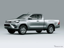 Toyota Hilux เตรียมเปิดตัวครั้งแรกในยุโรปที่งานเจนีวามอเตอร์โชว์ 2016