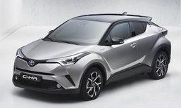 หลุด Toyota C-HR โฉมจำหน่ายจริงก่อนเปิดตัวที่สวิตเซอร์แลนด์ต้นเดือน มี.ค.นี้