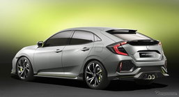 Honda Civic Hatchback ใหม่ เผยโฉมแล้วที่เจนีวามอเตอร์โชว์ 2016