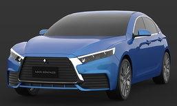 ภาพร่าง 2018 Mitsubishi Lancer โมเดลเชนจ์ใหม่ ปรับหรูขึ้นกว่าเดิม