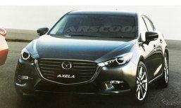 หลุด 2017 Mazda3 ไมเนอร์เชนจ์ใหม่ ปรับรูปลักษณ์สดใหม่ยิ่งขึ้น