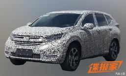 หลุด 2017 Honda CR-V ใหม่ พรางตัววิ่งทดสอบอีก