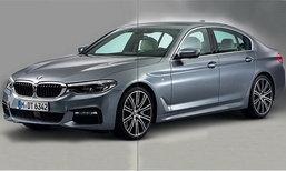 หลุด BMW 5-Series G30 เจเนอเรชั่นใหม่ก่อนเปิดตัวจริง