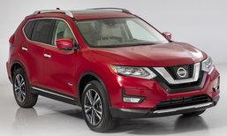 2017 Nissan Rogue/X-Trail ไมเนอร์เชนจ์แพงขึ้นกว่าเดิม 1.8 หมื่น