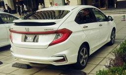 2016 Honda Gienia ใหม่ คันจริงสวยยิ่งกว่าในรูป