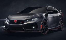 2018 Honda Civic Type R ใหม่ เผยโฉมอย่างเป็นทางการที่ปารีสมอเตอร์โชว์