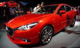 อ็อพชั่นใหม่ Mazda3 2017 ไมเนอร์เชนจ์มีอะไรเพิ่มขึ้นบ้าง?