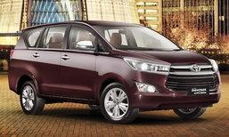ขายดีจัด! Toyota Innova Crysta ยอดจองทะลุ 5 หมื่นคันแล้วที่อินเดีย