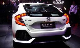 Honda Civic Hatchback Turbo 2017 ใหม่ ขุมพลังเทอร์โบ 1.5 ลิตร ราคา 1.169 ล้านบาท