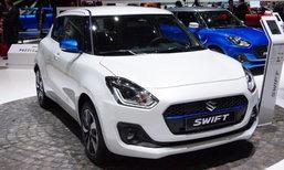 Suzuki SWIFT ใหม่ในงานเจนิวามอเตอร์โชว์ 2017 ไม่ปรากฏรุ่น Hybrid ในฝั่งยุโรป