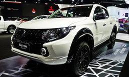 Mitsubishi Triton Limited Edition รุ่นพิเศษกระจังหน้าดำ ราคา 7.43 แสนบาท