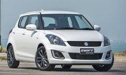 Suzuki Swift RX-II ใหม่ ปรับอ็อพชั่นเสริมดุ ราคา 599,000 บาท