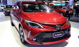 ราคารถใหม่ Toyota ในตลาดรถประจำเดือนพฤษภาคม 2560