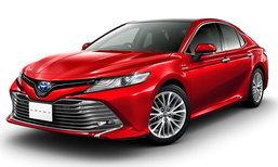 Toyota Camry 2017 เจเนอเรชั่นใหม่เผยโฉมแล้วที่ญี่ปุ่น