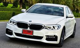 รีวิว BMW 530i M Sport และ 520d Luxury ใหม่ รถหรูขับสนุกพ่วงฟังก์ชั่นสุดล้ำ