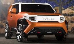 Toyota FT-4X ใหม่ เตรียมเผยโฉมที่นิวยอร์คมอเตอร์โชว์ 2017