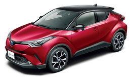 Toyota C-HR 2017 เผยเวอร์ชั่นสีทูโทนใหม่ล่าสุดที่ประเทศญี่ปุ่น
