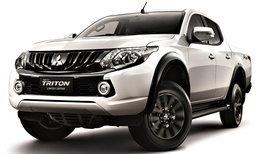 Mitsubishi Triton Limited Edition 2017 ใหม่ เพิ่มอ็อพชั่นเทียบเก๋งหรู ราคา 746,000 บาท