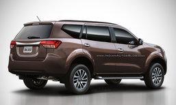 Nissan Paladin 2018 เผยภาพตัดต่อบั้นท้ายคู่แข่ง 'ฟอร์จูนเนอร์'