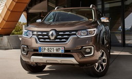 Renault Alaskan 2017 ใหม่ กระบะฝาแฝด X-Class/Navara เผยโฉมที่ยุโรป