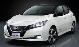 Nissan Leaf 2018 โมเดลเชนจ์ใหม่เปิดตัวแล้ว ราคาเริ่ม 960,000 บาทที่ญี่ปุ่น