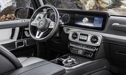 Mercedes-Benz G-Class 2018 เผยภาพห้องโดยสารก่อนเปิดตัวปีหน้า