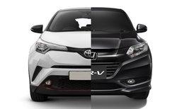 เทียบสเป็ค Toyota C-HR และ Honda HR-V 2018 รุ่นท็อปทั้งคู่ อ็อพชั่นใครแน่นกว่า?