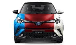 ไปดู Toyota C-HR 2018 ใหม่ ทั้ง 6 สี สีไหนสวยที่สุด?