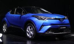 ขายดีจัด! Toyota C-HR 2018 ใหม่ เผยยอดจองสิทธิ์ทะลุ 3,000 คันนับตั้งแต่เปิดตัว