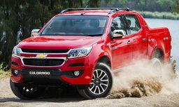 ราคารถใหม่ Chevrolet ในตลาดรถประจำเดือนมีนาคม 2561