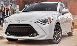 Toyota Yaris Sedan 2019 ใหม่ เผยโฉมอย่างเป็นทางการในสหรัฐฯ