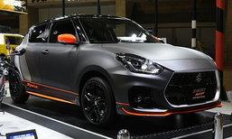 Suzuki Swift Sport 2018 เวอร์ชั่นออโต้ซาลอนเตรียมเปิดตัวที่ Auto Messe 2018