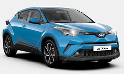 Toyota C-HR 2018 เพิ่มรุ่นย่อย Design ใหม่ วางจำหน่ายในอังกฤษ