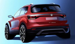 Volkswagen T-Cross 2018 ใหม่ เผยทีเซอร์ก่อนเปิดตัวจริงภายในปีนี้