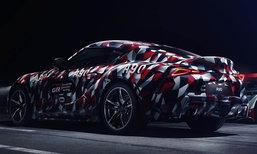 Toyota Supra 2018 โฉมจำหน่ายจริงเตรียมเปิดตัว 12 กรกฎาคมนี้