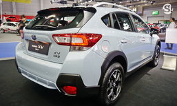 Subaru XV 2018 สีเทา Cool Grey Khaki ใหม่ เผยโฉมที่งาน BIG Motor Sale