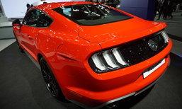 Ford Mustang 2019 ใหม่ ถูกจัดแสดงที่งานมอเตอร์เอ็กซ์โป ราคาเริ่ม 3.599 ล้านบาท