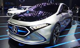 Mercedes-Benz Concept EQA ต้นแบบรถไฟฟ้ารุ่นเล็กที่งานมอเตอร์เอ็กซ์โป