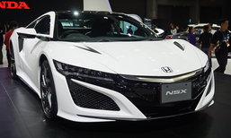 Honda NSX 2019 ใหม่ สปอร์ตคูเป้ขุมพลังไฮบริดถูกจัดแสดงที่งานมอเตอร์เอ็กซ์โป
