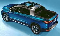Volkswagen Tarok 2019 ใหม่ ต้นแบบกระบะ 4 ประตูรุ่นเล็กเตรียมขายจริงแล้ว