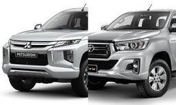 เทียบสเป็ค Mitsubishi Triton กับ Toyota Revo 2019 ใหม่ รุ่นท็อปทั้งคู่ สเป็คใครดีกว่า?