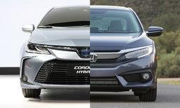 เทียบช็อต Toyota Corolla 2019 และ Honda Civic ใหม่ คันไหนสวยลงตัวกว่ากัน