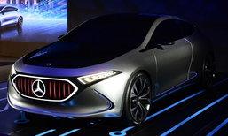Mercedes-Benz Concept EQA ใหม่ ต้นแบบรถยนต์ไฟฟ้าเผยโฉมจริงครั้งแรกในไทย