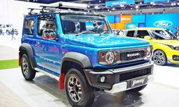 ไปดู Suzuki Jimny 2019 ใหม่ พร้อมชุดแต่งหล่อรอบคันจากญี่ปุ่นในงานมอเตอร์โชว์