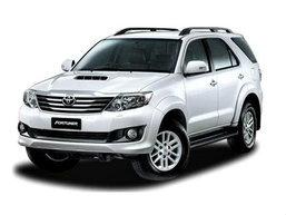 ราคารถใหม่ Toyota ในตลาดรถประจำเดือนกุมภาพันธ์ 2558