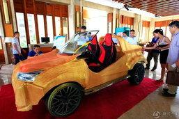 ทึ่ง! รถคันนี้สร้างจากเครื่องปริ๊นต์ทั้งคัน ราคาไม่ถึง 6 หมื่นบาท